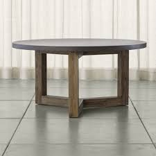 crate and barrel round dining table. Woodward Round Dining Table With Solid Wood Base - Crate And Barrel R
