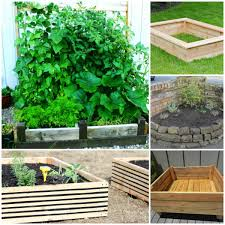 Small Picture 20 Brilliant Raised Garden Bed Ideas You Can Make In A Weekend