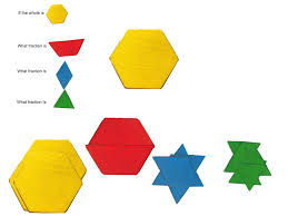 Pattern Block Fractions Awesome Decoration