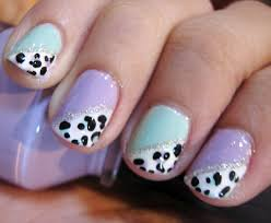 Cute short nail art design - how you can do it at home. Pictures ...