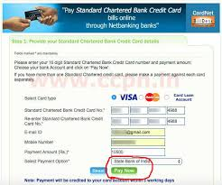 Standard Charted Online Credit Card Payment Standard Chartered Bank Forex Card Welcome To Standard