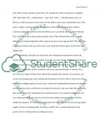 the poem those winter sundays essay example topics and well related essays