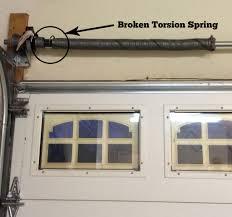 Garage Door how to fix garage door springs pictures : Garage Door Broken Spring Repair Cost Electric Garage Opener ...