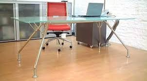 nervi glass office desk. Long Glass Desk For Computer Large Black Office In Inspirations 16 Nervi