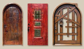 custom front doorsSolid Wood Custom Exterior Doors