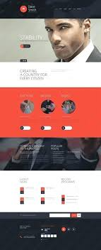 Political Website Templates Website Templates Politics Election Custom Template Campaign