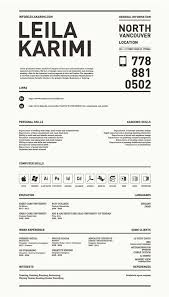 Great Resume Stunning Really Creative Simple Resume By Leila Karimi Via Behance For