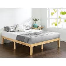 natural wood bed frame. Unique Bed Priage Solid Wood Platform Bed Natural On Bed Frame