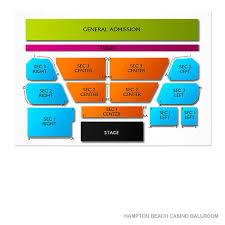Casino Ballroom Seating Chart Hampton Beach Casino Ballroom 2019 Seating Chart