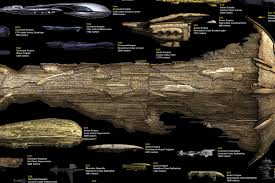 Science Fiction Spaceship Size Chart The Coolector