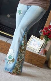 custom made hippie patchy bell bottoms all sizes available
