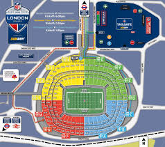 Wembley Stadium Nfl Seating Chart