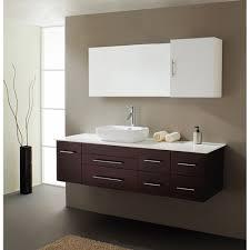 virtu usa justine 59 single sink bathroom vanity espresso free modern bathroom