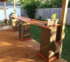 diy patio bar. Diy Patio Bar Ideas Photo 6 Of Outdoor Cinder Block .