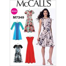 Fit And Flare Dress Pattern Stunning Misses And Miss Petite Sleeveless Or Raglan Sleeve Fit And Flare
