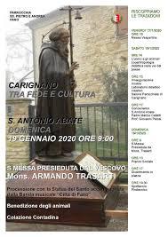 Fano, il 19 gennaio a Carignano la ricorrenza di Sant ...