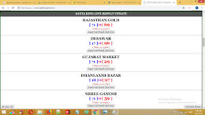 Rajasthan Gold Satta Chart Today Best Picture Of Chart