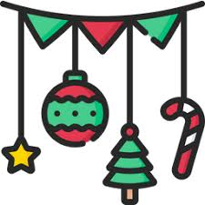 Download 12,427 christmas garland free vectors. Garland Icon Of Colored Outline Style Available In Svg Png Eps Ai Icon Fonts