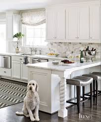 island design ideas designlens extended: kitchen peninsula design kitchen peninsula layout hickory chair madigan counter stools