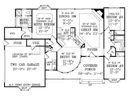 Home Plan is a gorgeous 1466 sq ft, 1 story, 3 bedroom, 2 bathroom plan  influenced by Victorian style architecture.