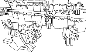 Small Picture 13 coloring pages of minecraft Print Color Craft