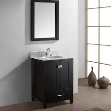 24 inch bathroom vanity combo. virtu usa caroline avenue 24-inch single sink black bathroom vanity set 24 inch combo i