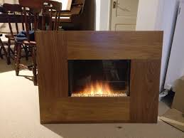 adam electric fireplace with fake fire effect