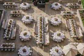 Rectangle Tables Wedding Reception Unique Table Configurations For Your Wedding Reception