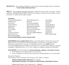 Objective For Resume For Bank Job General Resume Examples Example Andree Maker Sampleor Someone With 86