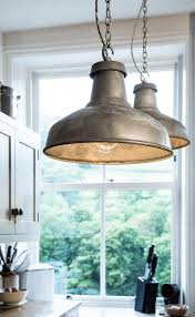contemporary industrial lighting. exellent industrial factorylux galvanised industrial shades complete this contemporary kitchen  design for contemporary industrial lighting