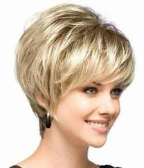hairstyles for women over 60 rounded short heavily layered platinum