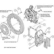 wilwood rear big brake kit 10 15 camaro 140 11270 jdp motorsports wilwood aero4 rear slotted big brake kit 2010 2015 camaro v6 ss zl1 140 11270
