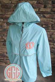 Charles River Windbreaker Size Chart Youth Monogrammed Personalized Full Zip Rain Jacket 6