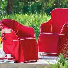 Padded Resin Chair Cover