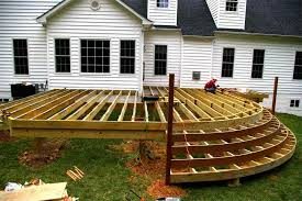 Decks And Patios East Coast Construction Remodeling Inc Within Classy Small Backyard Decks Patios Remodelling