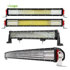 50 Inch Cree Curved Light Bar Hot Item 2019 New 20 Inch 28800w 50inch 4 Rows 12d Cree Curved Car Truck Offroad Auto Led Light Bar