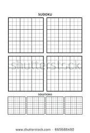Sudoku Template Free Printable Sudoku Puzzles Answers Coloring With U2013