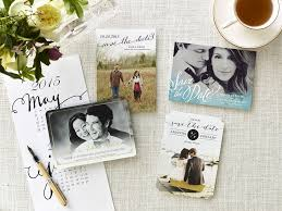 a selection of save the date cards