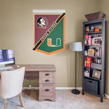 florida state miami house divided banner fathead
