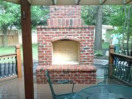 plans outdoor brick fireplace plans small designs grill smoker