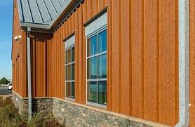 rusted metal siding burnt rust siding rusted corrugated metal siding for