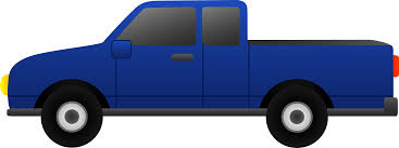 Image result for blue truck clipart