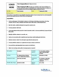 Microsoft Job Description Ukranagdiffusion Simple Job Description Template Word