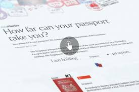 All Applications For Passport Nric To Go Online From 2020