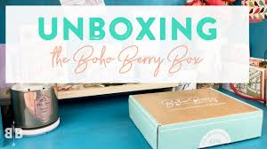 boho subscription box. Interesting Subscription January Boho Berry Box UNBOXING Inside Subscription H