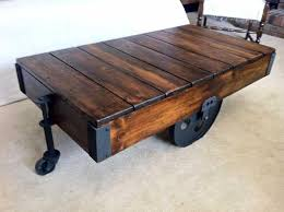 pallet cart coffee table view here element 1