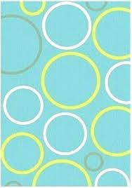 navy circle rug blue circles circular dark round
