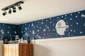 star wars wall star wars bedroom with track lighting and star wars wall murals star wars star wars wall