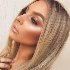 inspirational bronze glowy makeup looks