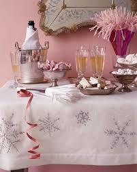 snowflake tablecloth martha stewart